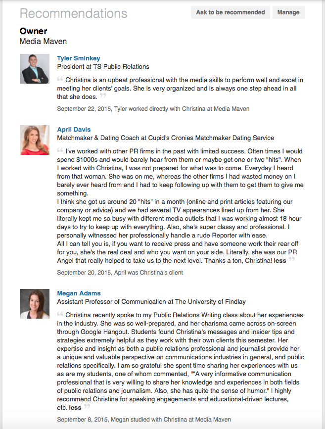 recommendations-on-linkedin