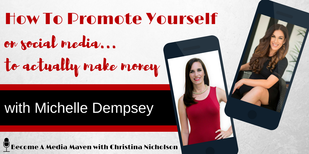 how to promote yourself on social media