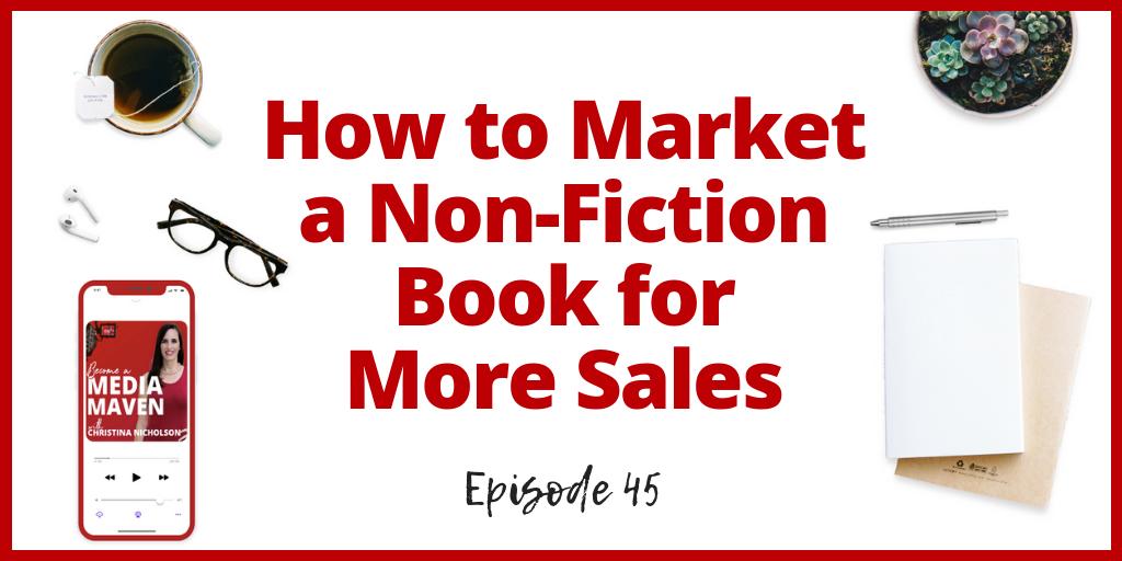market a non-fiction book