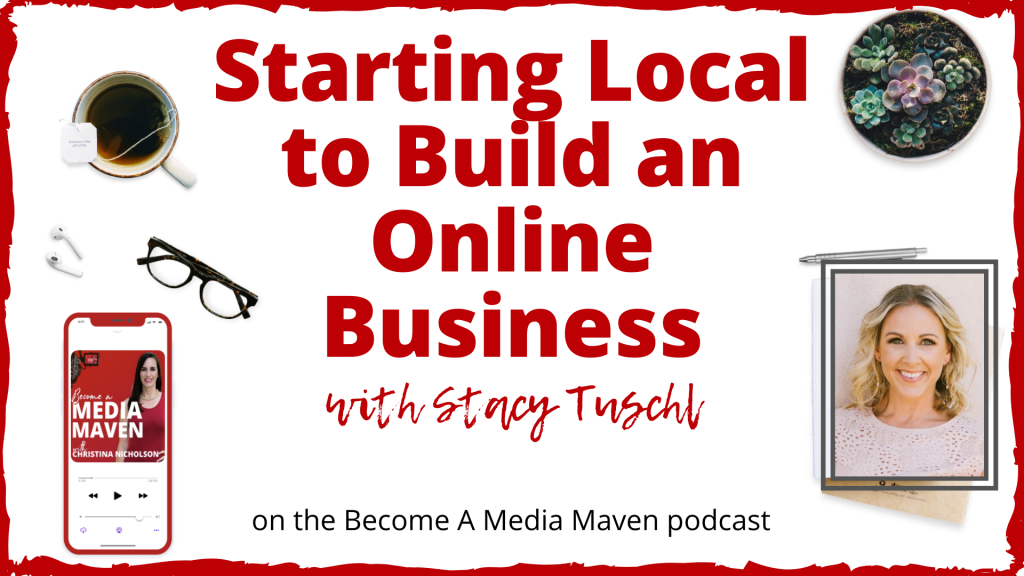 Starting local to build an online business