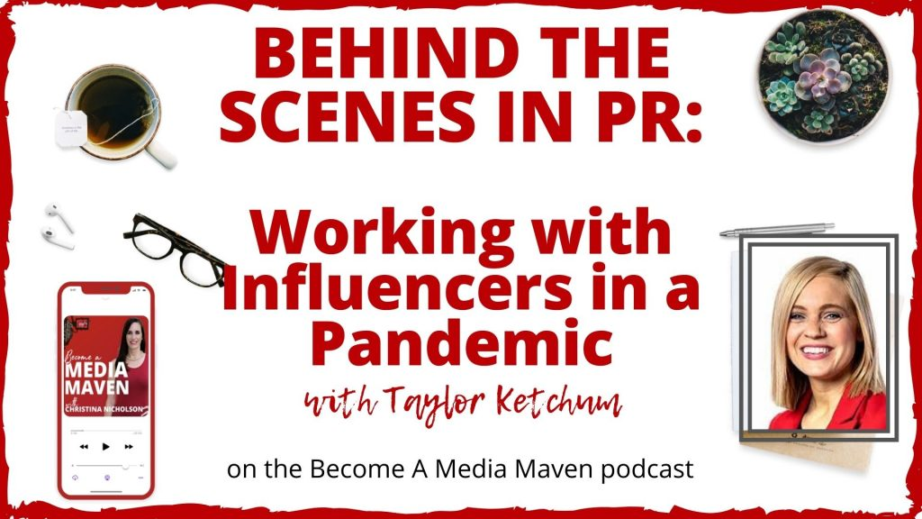 HOW PR WORKS WITH INFLUENCERS IN A PANDEMIC