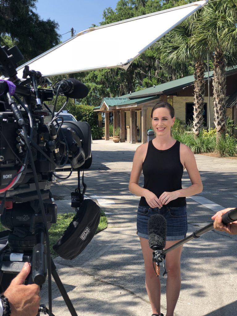 Christina Nicholson TV host
