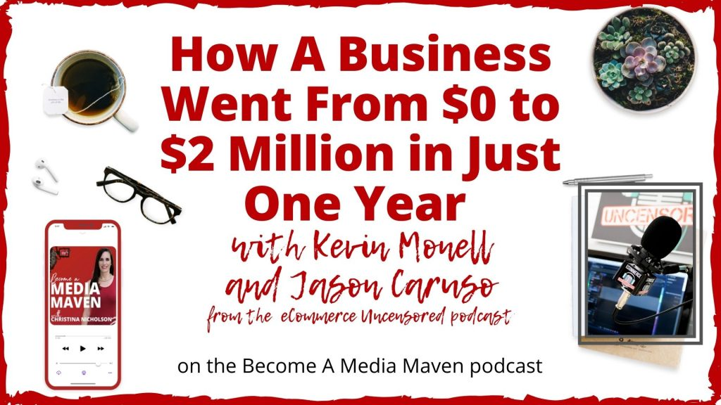 how a business went from 0 to 2 million image