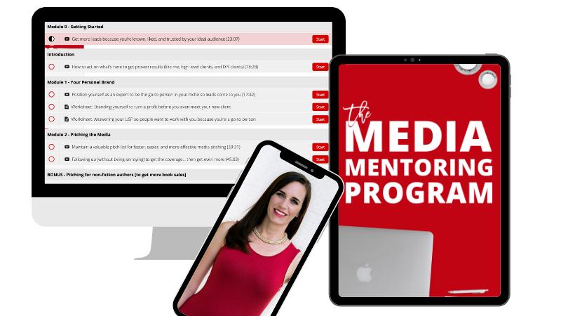 Media Mentoring Program